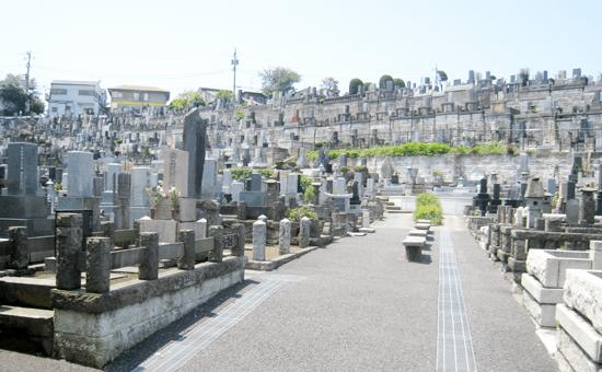 横浜市営 三ツ沢墓地の画像1