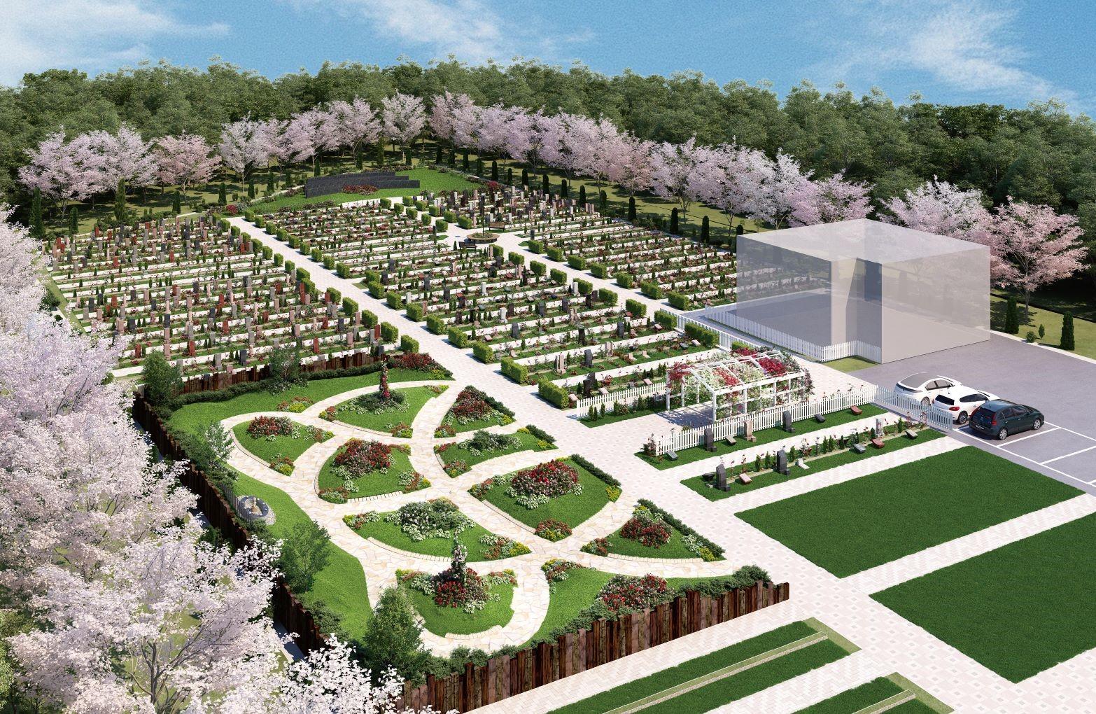やすらぎの花の里 所沢西武霊園の画像1