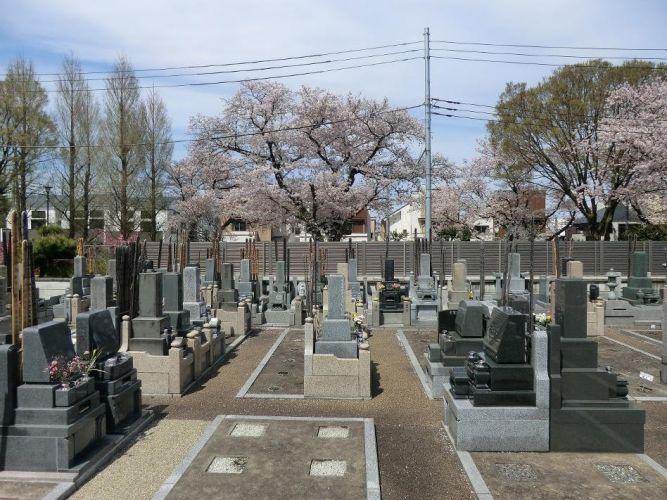 桜上水みたま墓苑の画像1