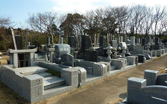 ひたちなか市営 高野墓地の画像1