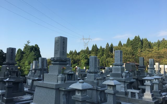上市町墓地公園の画像1
