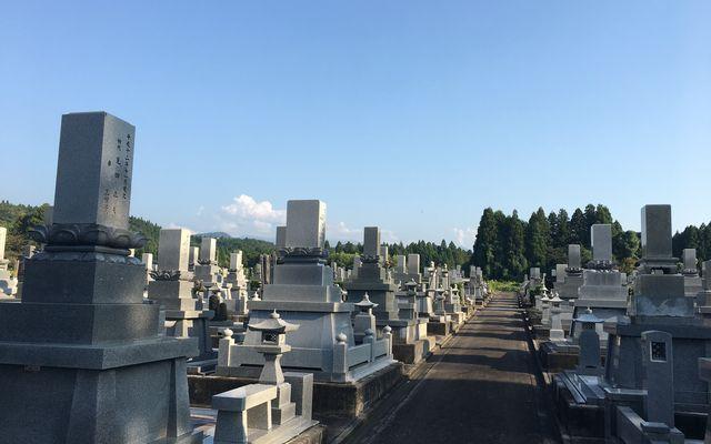 上市町墓地公園の画像2